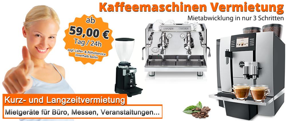 Kaffeemaschinen U Kaffeeautomaten Vermietung In Berlin